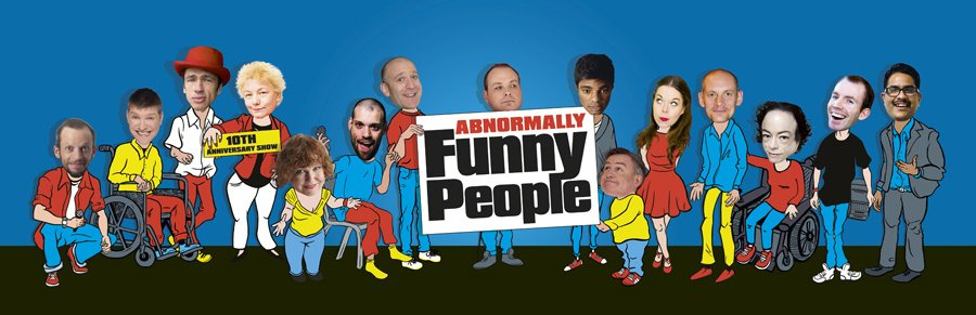Image: Flyer from the 2015 Edinburgh Show, featuring 15 comedians