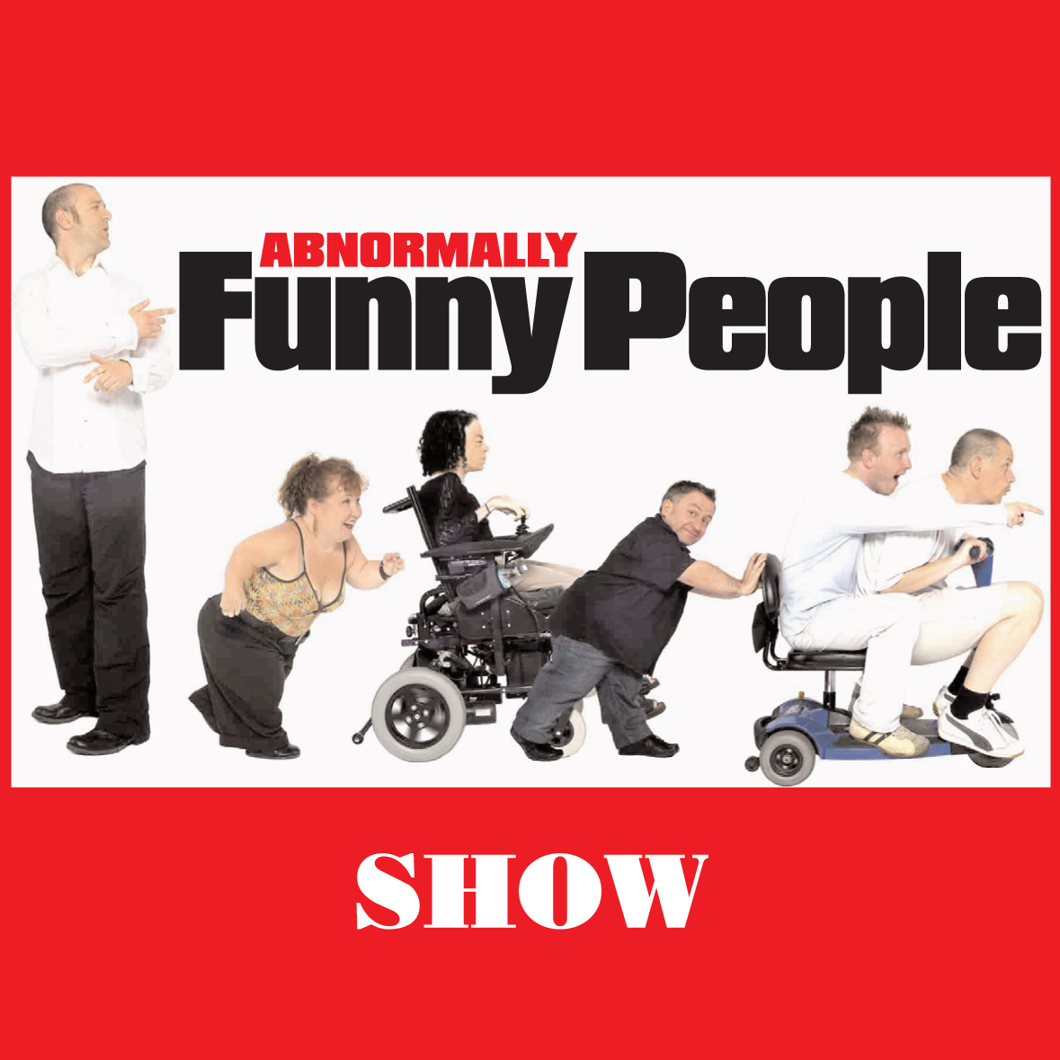 Image: Abnormally Funny People Podcast Logo